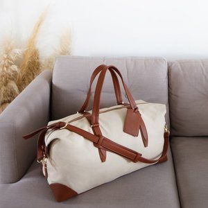 Henny + Lev Canvas Weekender $179